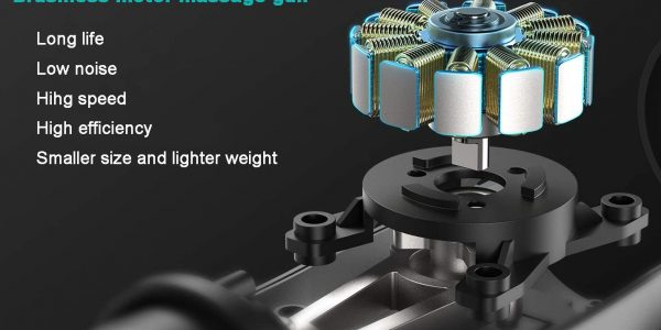 What are the advantages of Brushless motor massage gun