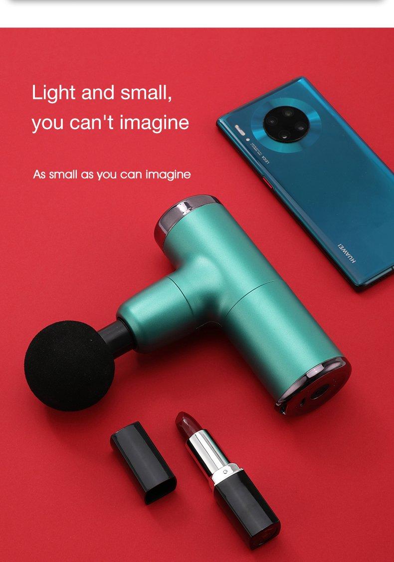 mobilephone size pocket gun massager
