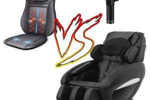 Which one is better massage chair, massage machine, or massage gun